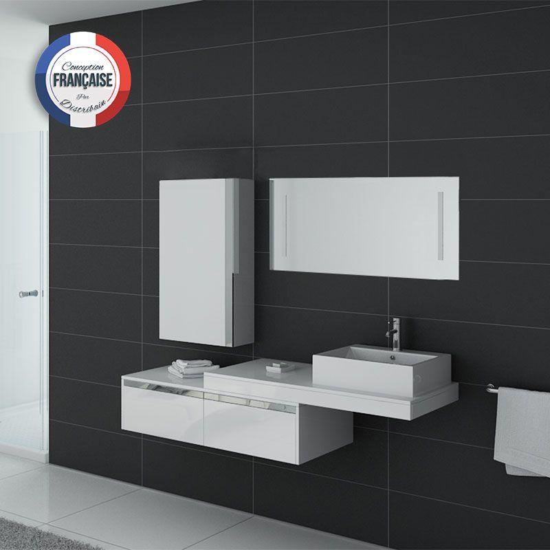 Ensemble salle de bain DIS9550B blanc