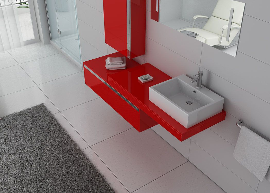 Meuble salle de bain ref dis9550co for Salle de bain online
