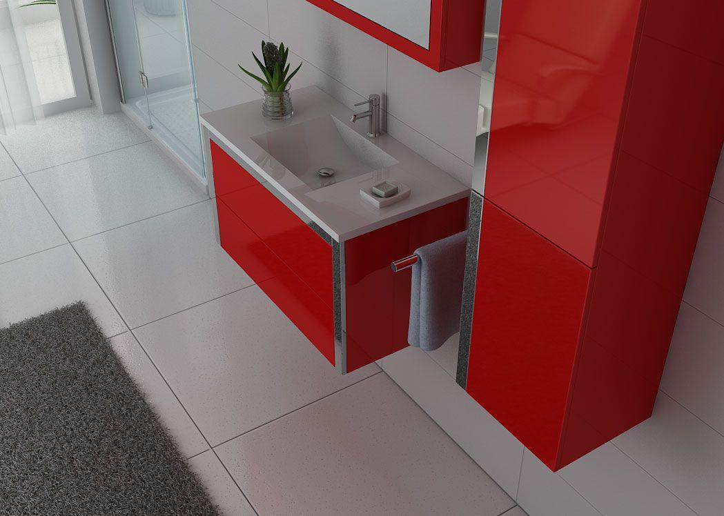 Meuble salle de bain ref dis025 900co for Salle de bain petit prix