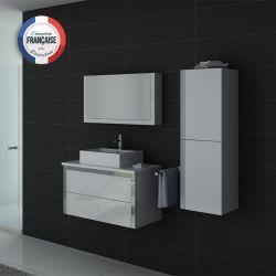 Meubles salle de bain DIS026-900B blanc