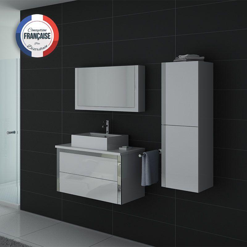 Meuble salle de bain ref dis026 900b - Meuble salle de bain online ...
