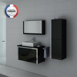 Ensemble de salle de bains simple vasque DIS026-900N