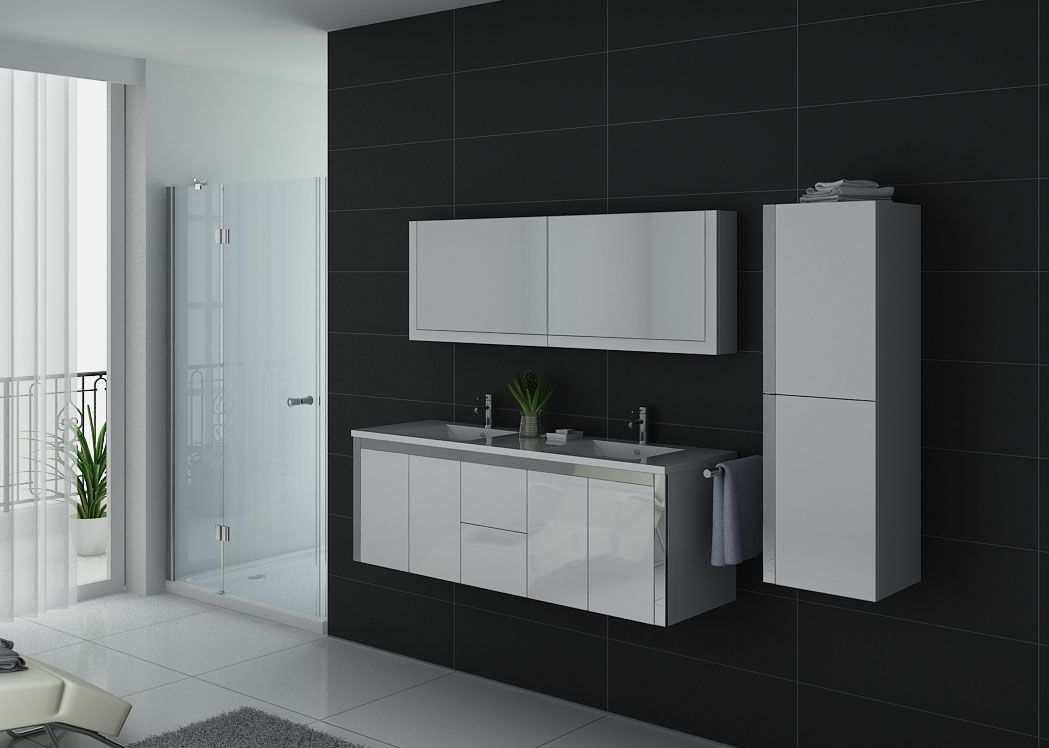 meuble de salle de bain blanc meuble de salle de bain de bon rapport qualit prix. Black Bedroom Furniture Sets. Home Design Ideas