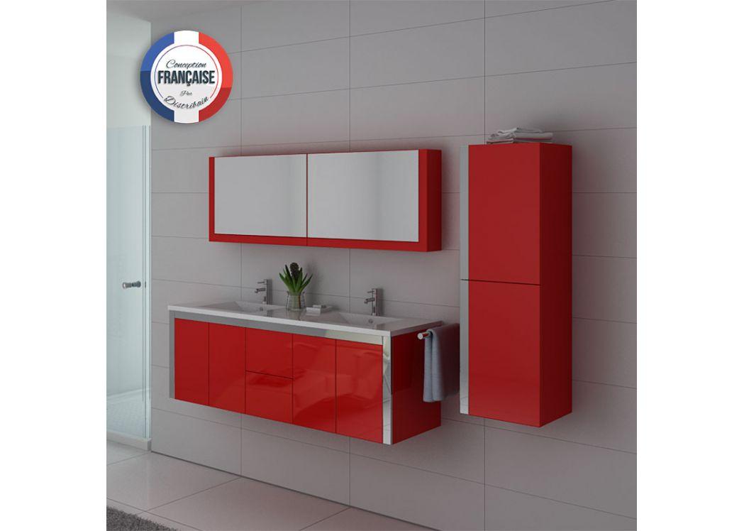 Meuble salle de bain ref dis025 1500b for Ensemble meuble de salle de bain double vasque