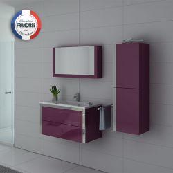 Meubles salle de bain DIS025-900AU Aubergine