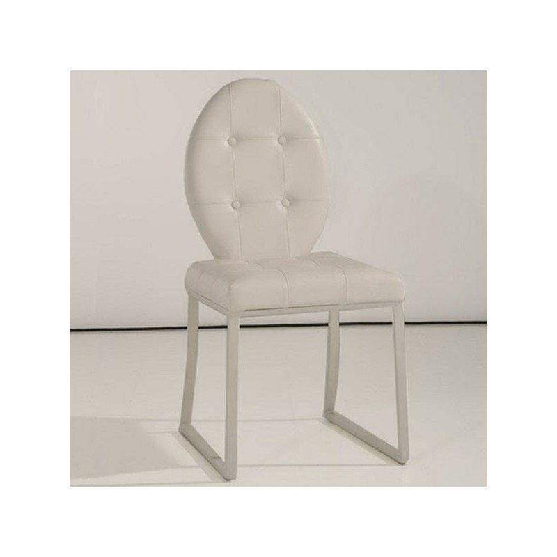 Chaise dita blanc - Lot 4 chaises blanches ...